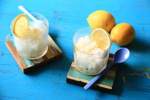 レモンとバジルが相性抜群!フランス風かき氷グラニテの作り方