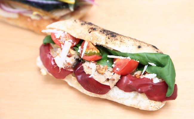 鎌倉のパン屋mbs46.7の「週替わりのサンドイッチ」
