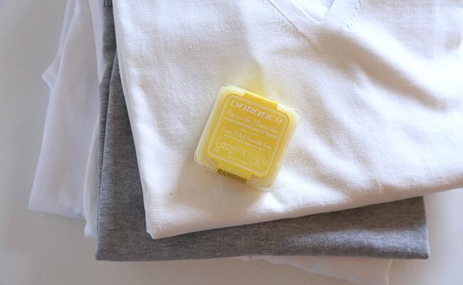 マルセイユ石鹸をサシェとして使う
