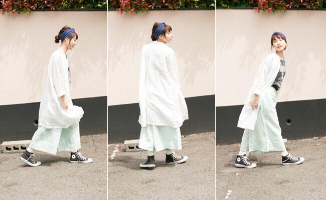 IDÉE×minä perhonen(ミナペルホネン)×無印良品から生まれたPOOL「いろいろの服」