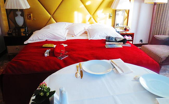 高級ホテルのお部屋を自宅のように楽しむ