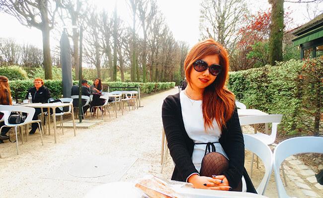 美術館のカフェで感性を磨きながらパリを楽しむ昼下がり