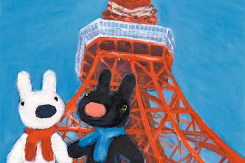 最新刊では東京を大冒険!「リサとガスパールとうきょうへいく」!