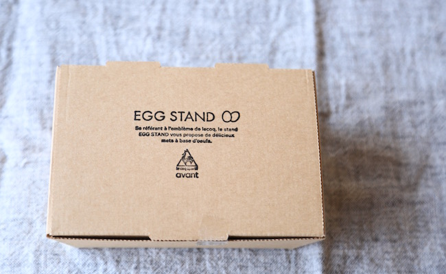 『EGG STAND』のエッグドーナツ