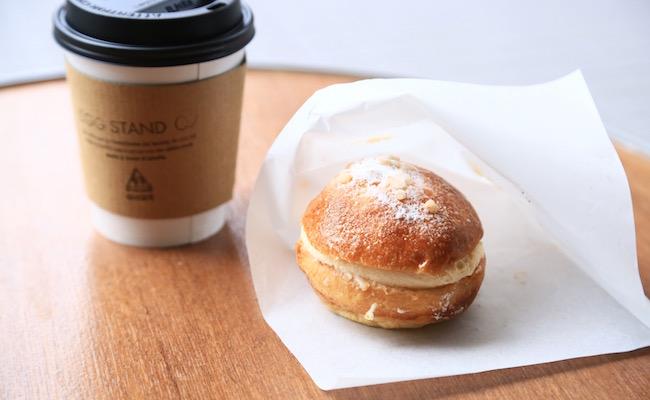 『EGG STAND』のエッグクリームパン