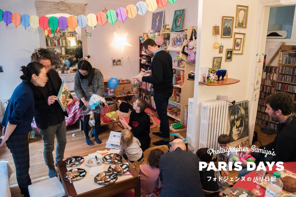 3歳の息子の誕生日会を開催!フランス流の誕生日会とは