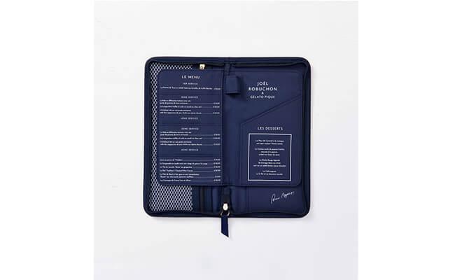 【Joel Robuchon & gelato pique】パスポートケース