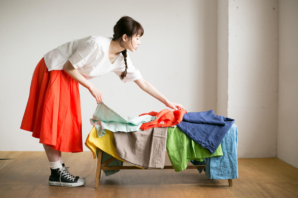 IDÉE×minä perhonen×無印良品から誕生した毎日着たい服!POOL「いろいろの服」