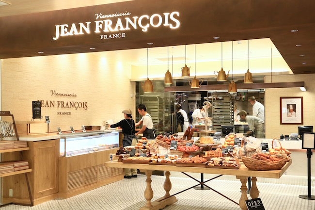 GINZA SIXにある『Viennoiserie JEAN FRANÇOIS(ヴィエノワズリー ジャン・フランソワ)』