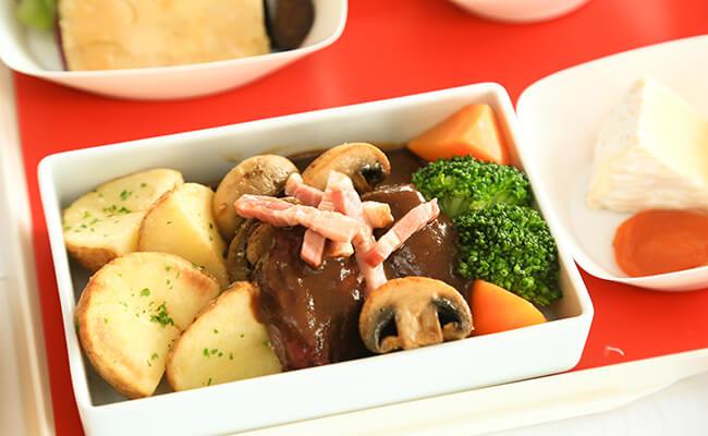 エールフランスの機内食はフランス流のおもてなし!アラカルトメニュー