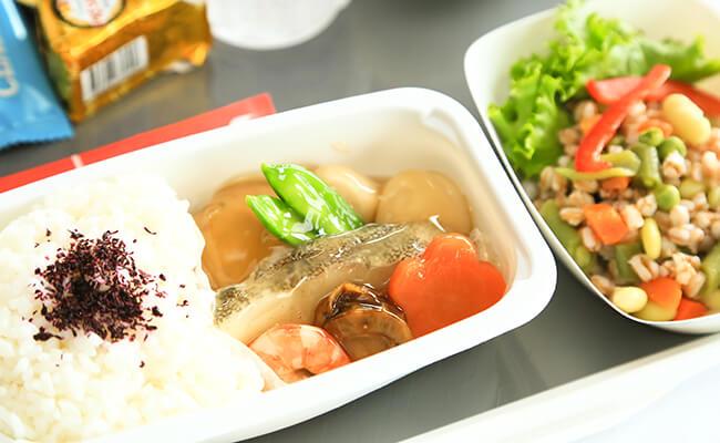 エールフランスの機内食はフランス流のおもてなし!