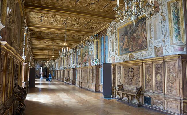 世界遺産フォンテーヌブロー宮殿