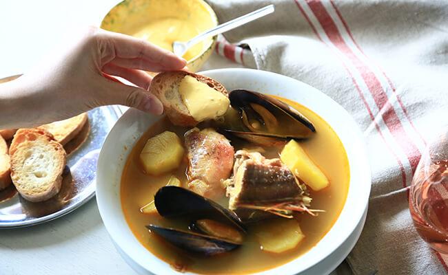 マルセイユ風ブイヤベースのレシピ
