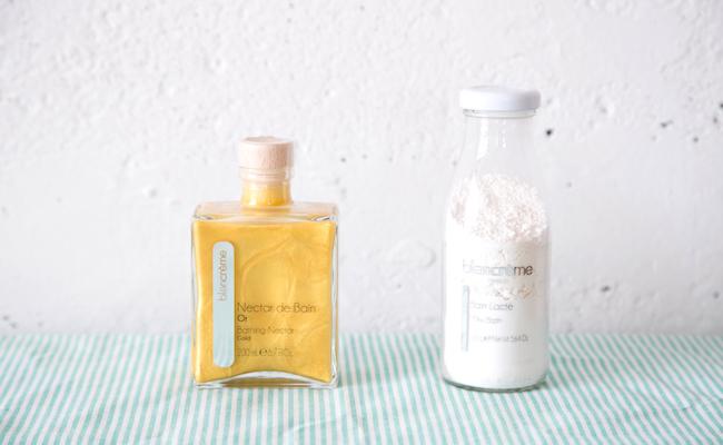 blancreme(ブランクレーム)のバスネクターとミルクバス