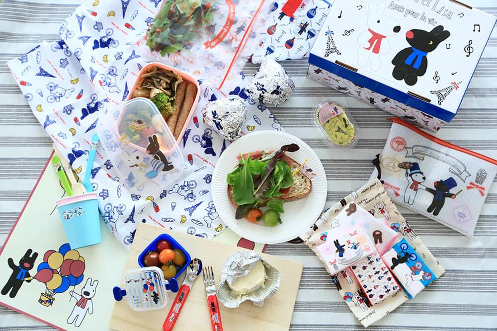 ピクニックにぴったり!『Seria』で見つけたリサとガスパールグッズ