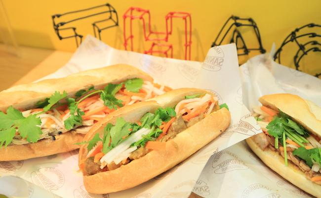 元住吉『タオズバインミー』のサンドイッチ