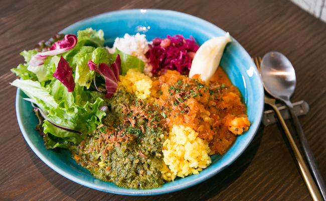 恵比寿『good luck curry』のカレー