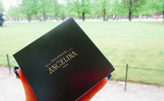 パリの人気店アンジェリーナのモンブランはテイクアウトして公園へ
