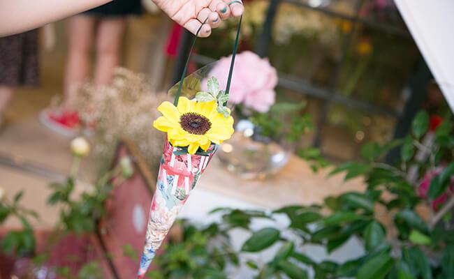 花とクレープの幸せな関係。代官山のクレープショップ『TAJIMAJI』