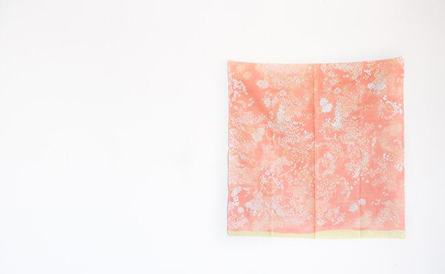 SUMAU nani IRO(スマウ ナニイロ)のWガーゼ大判ハンカチ
