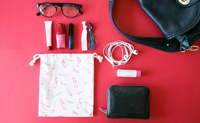 My Little Box(マイリトルボックス)「Travel」の巾着は特別仕様