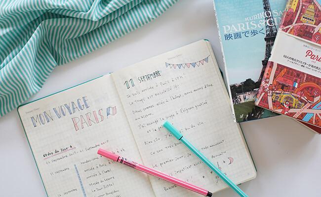 自由にカスタマイズを楽しむBullet journal(ベレットジャーナル)