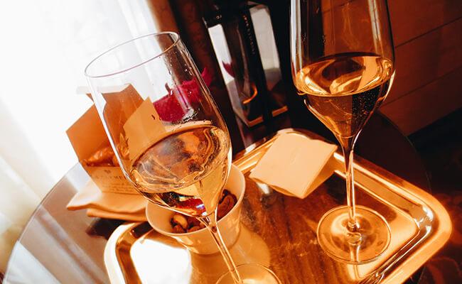 シャンパンとショコラの素敵なマリアージュ