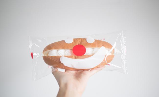 『つるやパン』の「スマイルサンド」