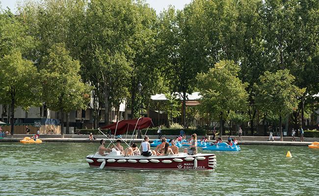 セーヌ川の水を使ったプール「ベニアード」がパリ・プラージュに新設!