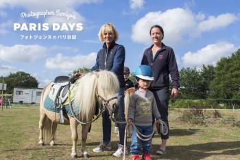 ラ・ボールの牧場でバカンス!3歳の息子が乗馬に初挑戦