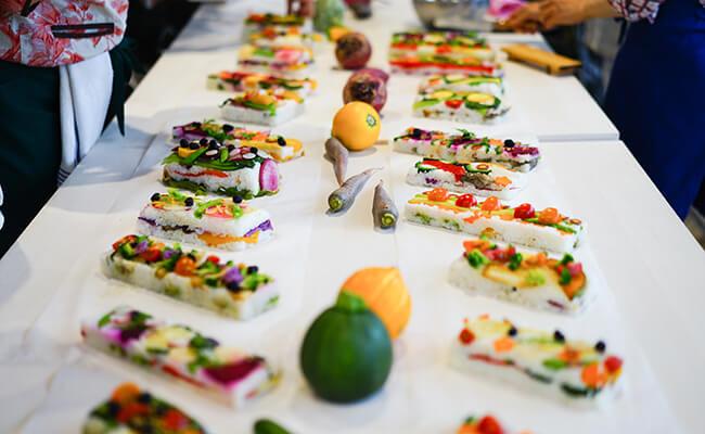 フランスで話題!?美しい野菜のお寿司VEGESUSHI