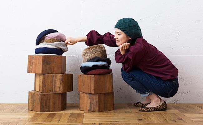 秋冬のフレンチシックに欠かせない!はじめてさんのためのベレー帽探し
