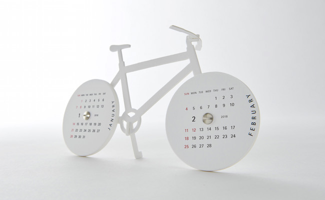 good morning calendar2018/Bike