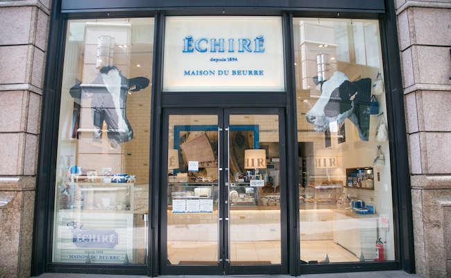 エシレバターの世界初の専門店『エシレ・メゾン デュ ブール』
