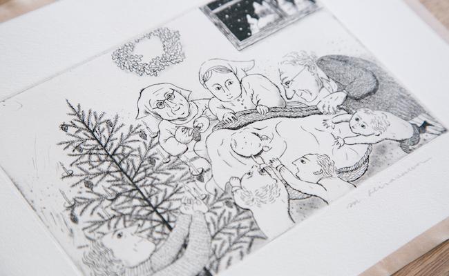 平澤まりこさんの原画