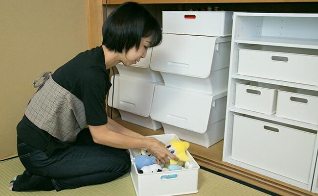 小脇美里さん直伝!「モノトーン収納」でごちゃごちゃ押入れをきれいに!