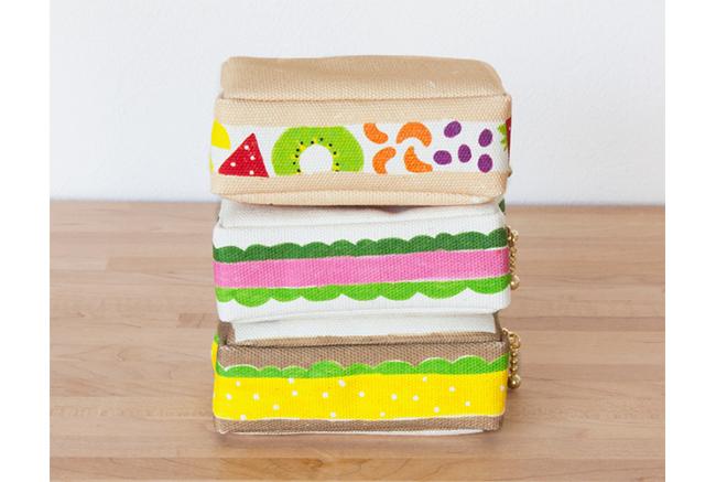 「pu・pu・pu」のサンドイッチポーチ