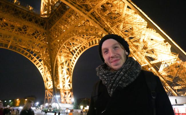 パリ友のガラードさん