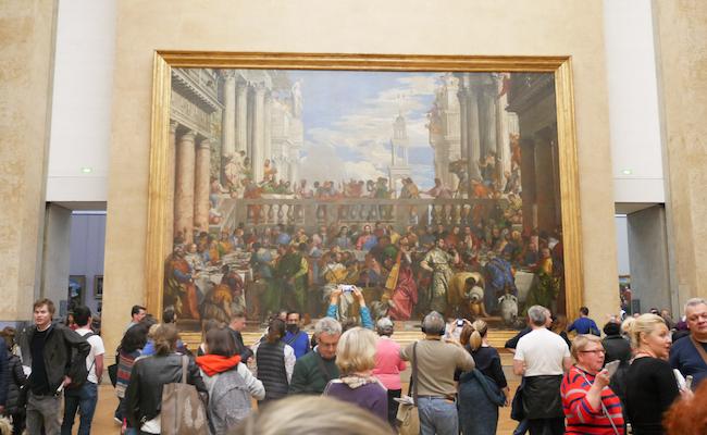 ルーヴル美術館の「カナの婚礼」