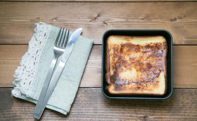 家事問屋の「フレンチバット」で作るフレンチトースト