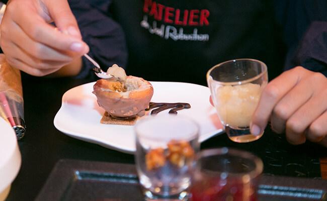 はじめてのお菓子作りとフランス料理!父と娘の「親子でロブション」