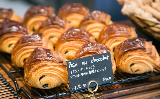 『Pain des Philosophes(パン デ フィロゾフ)』のパン・オ・ショコラ