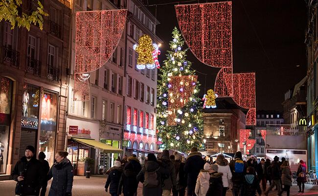 クリスマスマーケットの聖地!ストラスブールへ行ってきました!