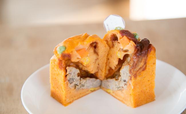『おかずケーキ カヴァン』の「ハンバーグステーキ」