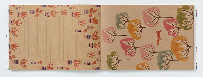 パリジェンヌも夢中な図柄がいっぱい!「PARIS 100枚レターブック Season Paper Collection」