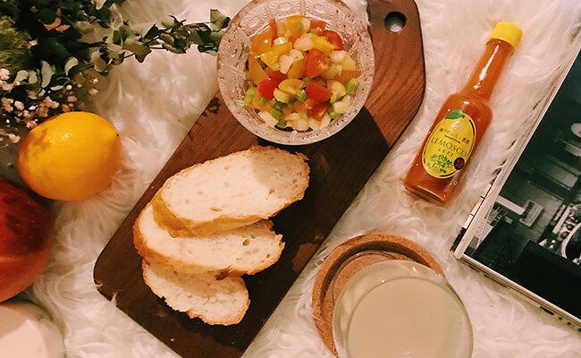 レモン+タバスコ=すっぱい!辛い!うまい!新しい辛味調味料「レモスコ」