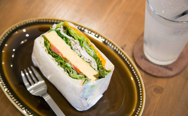 谷中のベイクショップ『Succession(サクセション)』のサンドイッチ