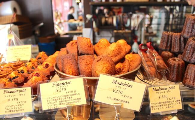 viron渋谷店の焼き菓子