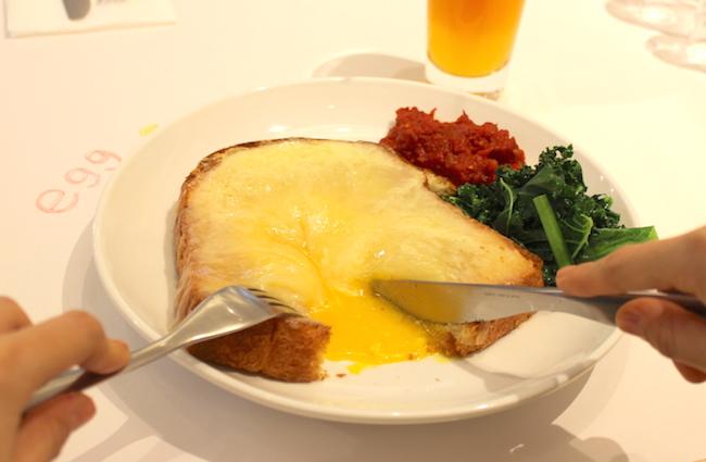 池袋『egg東京』の「エッグ ロスコ」