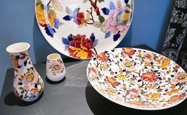 『GIEN』の伝統的な花柄・牡丹(Pivoines)シリーズ